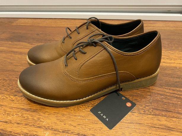 Buty pantofle chłopięce zara 37