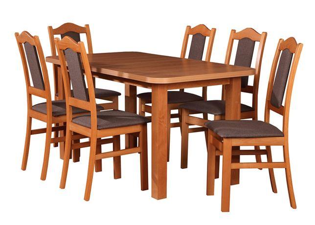 SUPER TANI zestaw BIS stół+6 krzeseł HIT! Transport cały kraj!
