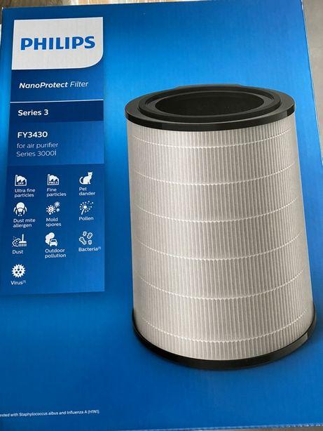 FY3430/30 Zintegrowany filtr 3w1 Filtr NanoProtect