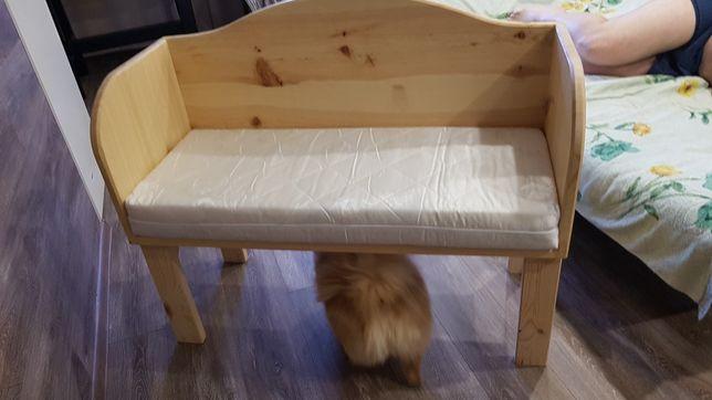 продам новую приставную детскую кроватку и абсолютно новый матрас