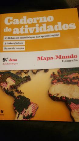Caderno atividades 9 ano mapa mundo