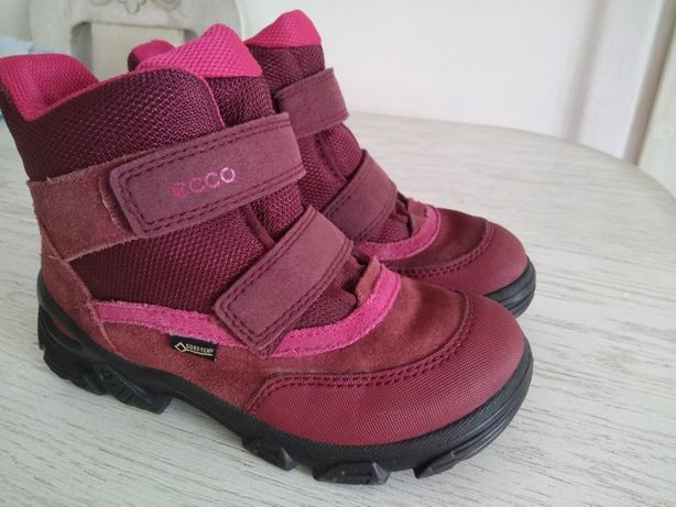 Ecco чоботи ботинки термо