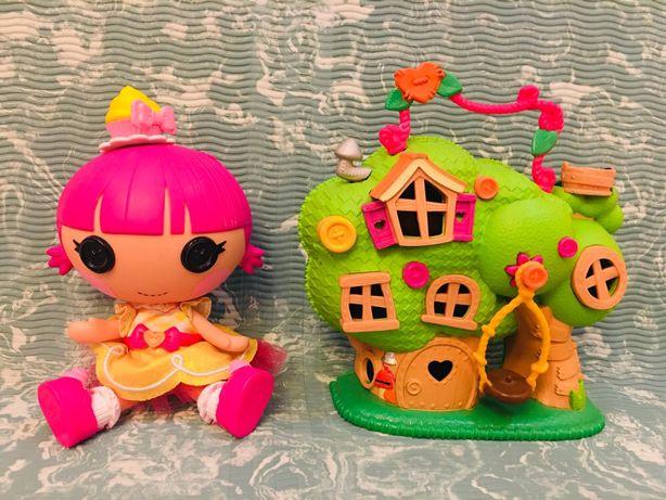 Игровой набор: Кукла Lala loopsie оригинал с домиком