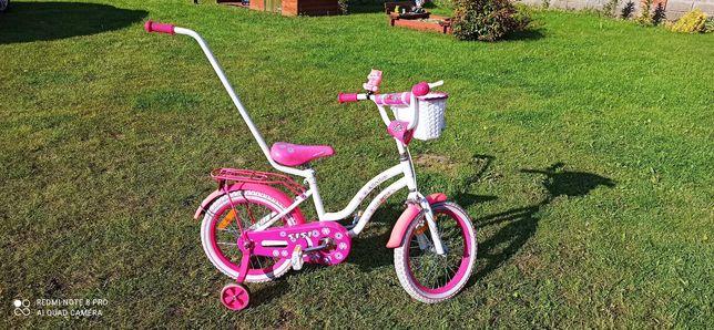 rower dla dziewczynki 16 cali