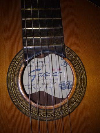 Guitarra espanhola de flamenco luthier 1973