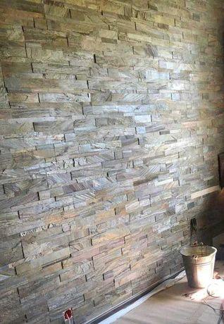 Kamień Samoprzylepny Dekoracyjny Ozdobny Panel Na Ścianę Łupek HIT!