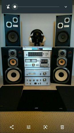 Wieża JVC vintage