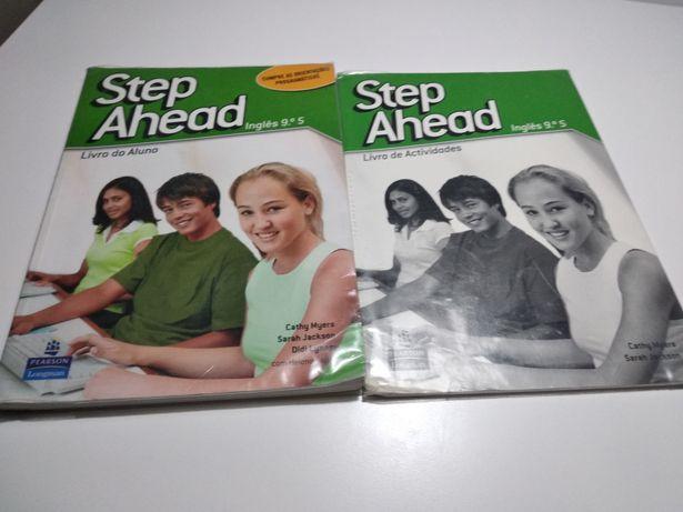 Livro, manual escolar de inglês para o 9°ano