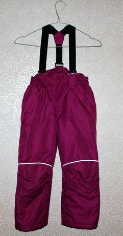 spodnie narciarskie dziewczęce
