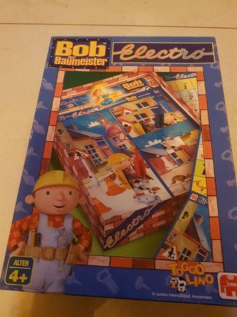 Super gra electro Bob Budowniczy Jumbo -Nowa