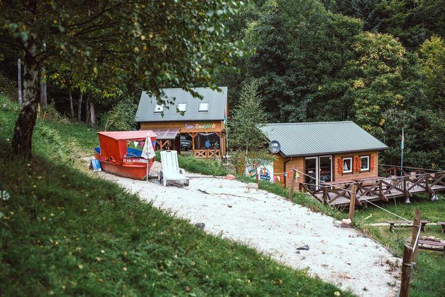 Ośrodek wczasowy w górach, dochodowy, na odludziu, zamiana