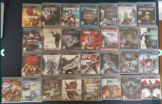 Okazja! Gry Playstation 3 PS3 Tekken - GTA - Diablo - Max Payne i inne