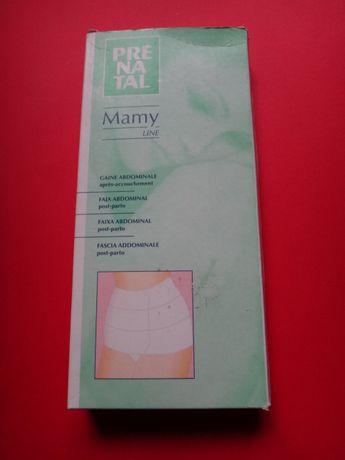 Cinta pós parto Altura25 cmx Comp 55cm Modelo Mamy Line tamanho S - 00