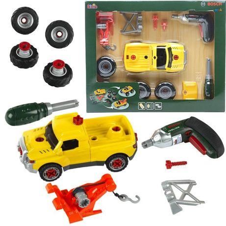 Samochód do skrecania 3w1 z wkretarką Bosch dla dzieci