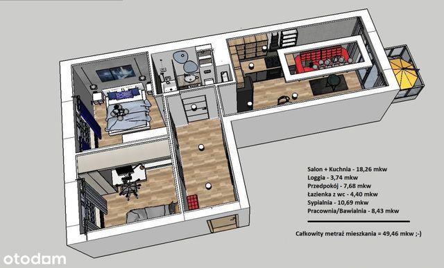 Nowe mieszkanie w wysokim standardzie - Wrotków