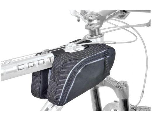 Sakwa rowerowa przód ramy podwójna AUTHOR A-R281