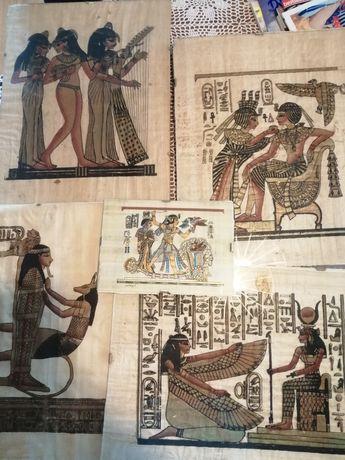 Papirusy w antyramach