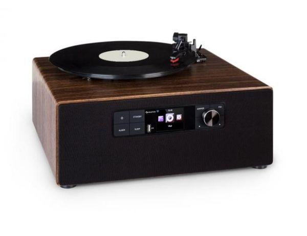 Gramofon wielofunkcyjny Auna. Radio Dab+/FM,MP3  za 50% ceny