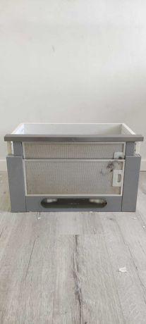 Okap pochłaniacz kuchenny srebrny wysuwany podszafkowy