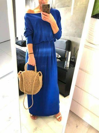Sukienki kobaltowe