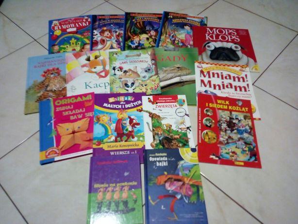 Zestaw książeczek książek dla dzieci bajki baśnie opowiadania