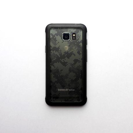Samsung Galaxy s7 Active 32Gb SM-G891A Camo Green (#1911)