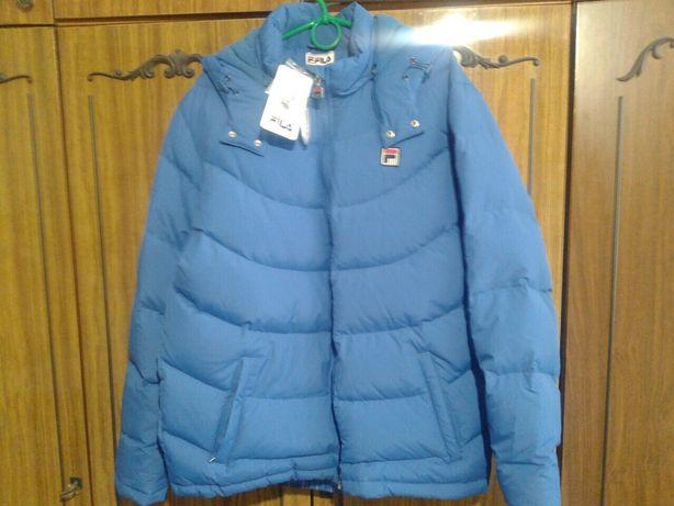 Куртка пуховик новая зимняя Fila puma