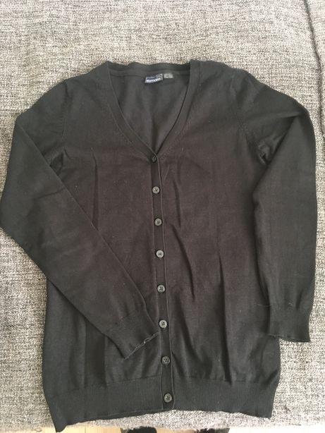 Esmara sweter kardigan czarny roz 36/38
