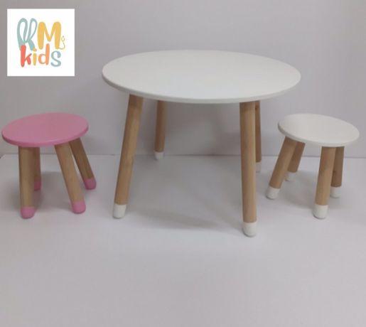 Детский столик и стул. Детский столик для творчества. Детский стул
