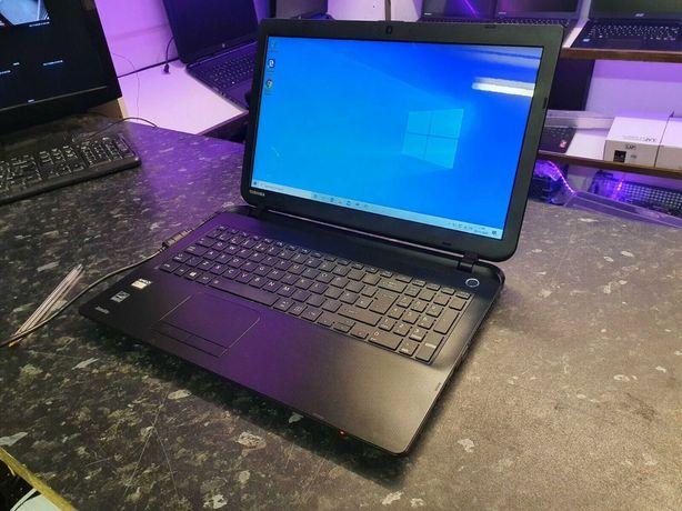 "Notebook Toshiba 15.6"" E1/4GB/256SSD gráfica dedicada Radeon como Novo"