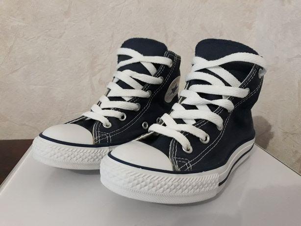 Оригинальные и качественные кеды Converse All star 31 размера 19 см