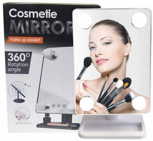 HIT LUSTRO kosmetyczne PODŚWIETLANE LED makijaż 24