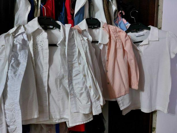 Рубашка блузка на девочку 116-128