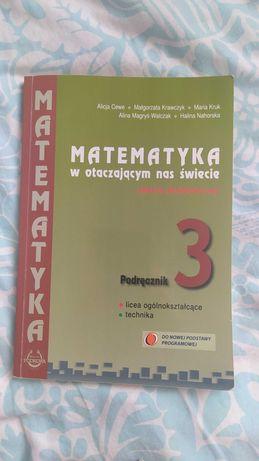 Podręcznik Matematyka w otaczającym nas świecie 3