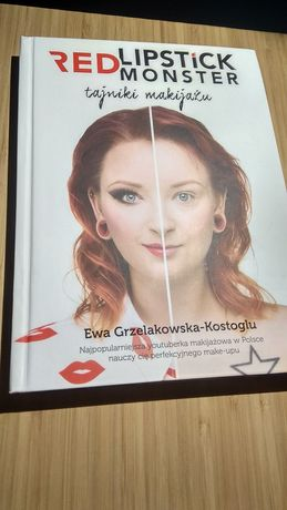 """Ewa Grzelakowska-Kostoglu RedLipstickMonster RLM """"Tajniki Makijażu"""""""