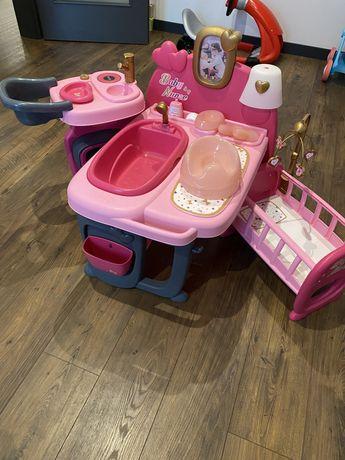 Kącik opieki zabawka różowa Baby Nurse bobas