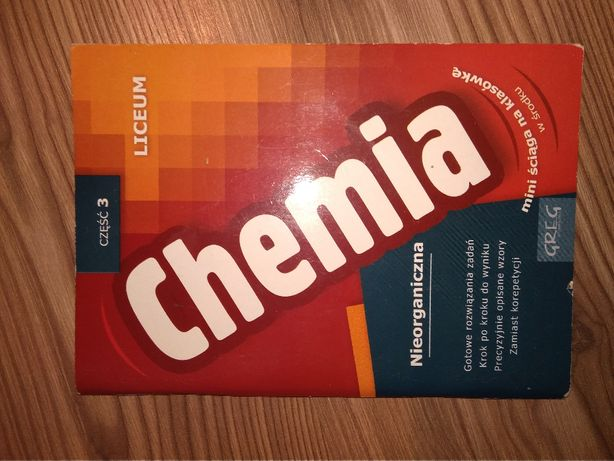 Chemia nieorganiczna liceum cz. 3