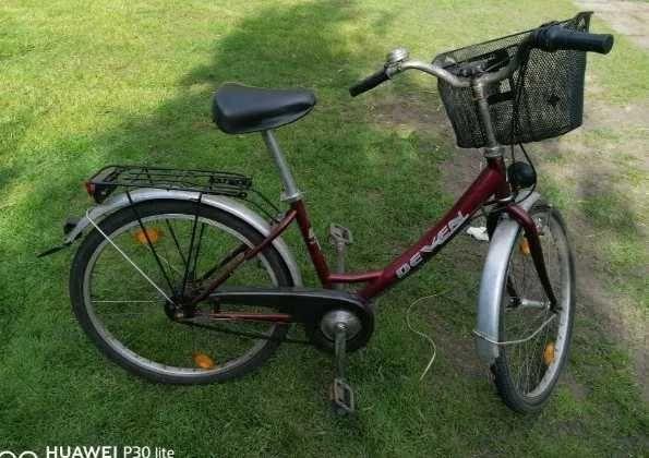 Rower 24cale z koszyczkiem polecam
