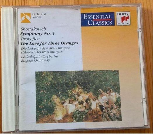 Schostakovitch - Sinfª 5/Prokofiev - 3 Laranjas CD