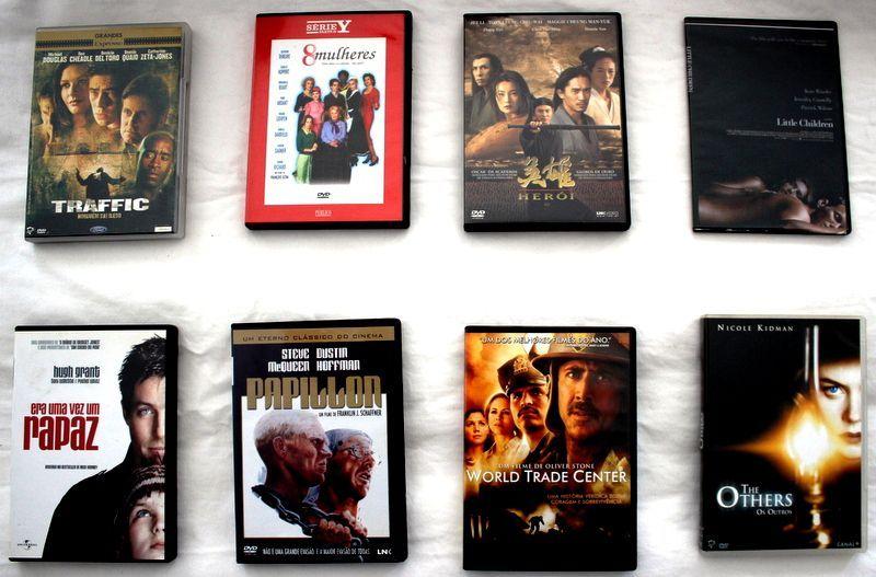 7 Filmes DVDs de Colecção Guarda - imagem 1