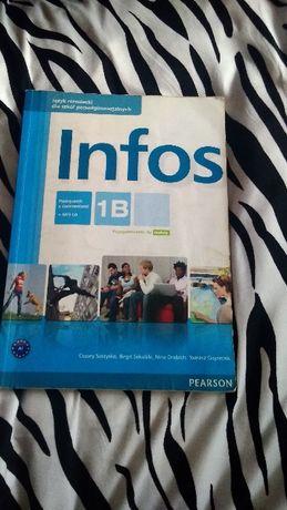 Infos podręcznik dla szkół ponadgimnazjalnych, poziom B1