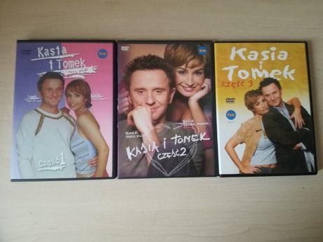 Serial Kasia i Tomek na DVD Sezony 1-3 Brodzik Wilczak UNIKAT 3xDVD