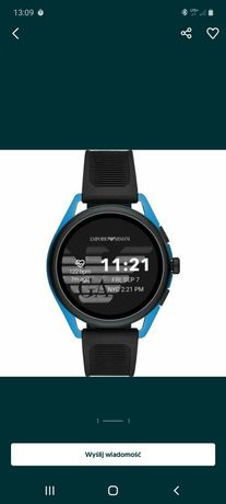 Smartwatch Armani lub zamiana