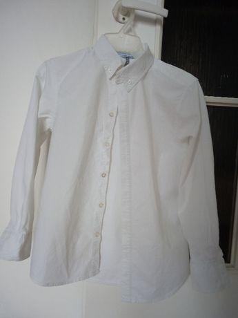 Koszula biała dla chłopca 140 cm. 5.10.15.