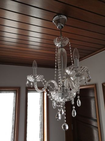 Candeeiro suspenso de 3 luzes