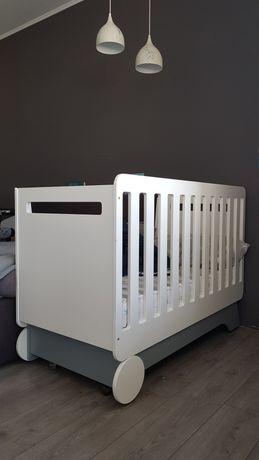 Кроватка трансформер indigowood nova kit, белый/серый //верес