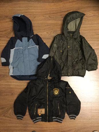 Курточки для мальчика на 1,5—4 года