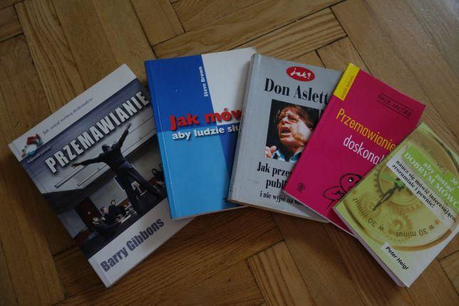Książki: Przemawianie, jak mówić, przemawiać