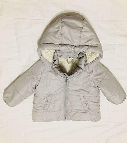 Куртка демисезонная зимняя для девочки h&m