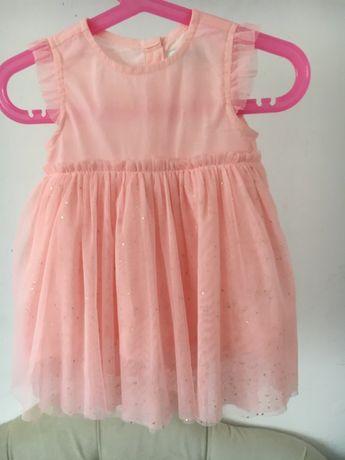 Sukienka tiul 5 10 15 Rozmiar 80